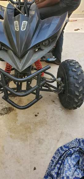 Bike raptor atv