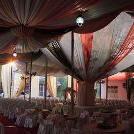 Jasa Sewa Tenda,peralatan pesta dekorasi, sound system, AC dll. Medan