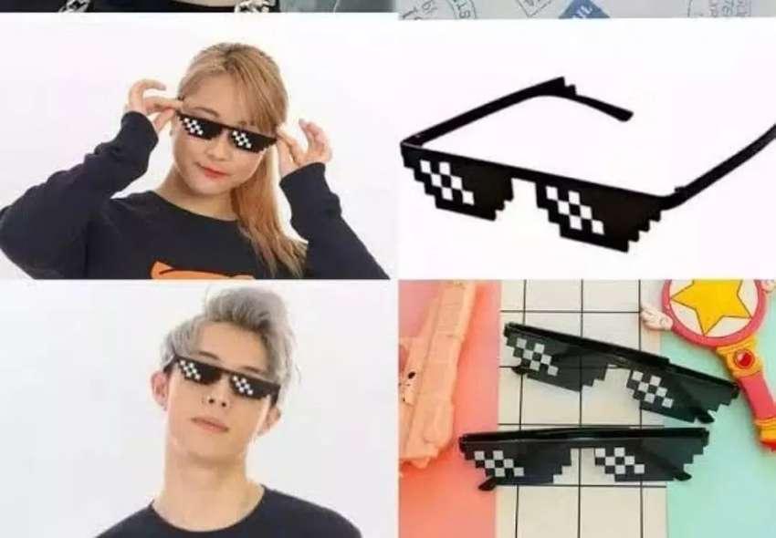 Kacamata thug life/kaca mata hitam/kacamata 0