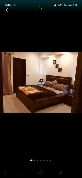 E 11 Karsas tower 1 bed fully furnished flat for per day weekly