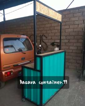 Booth container/booth jualan/booth bazzar/booth usaha/booth thai tea