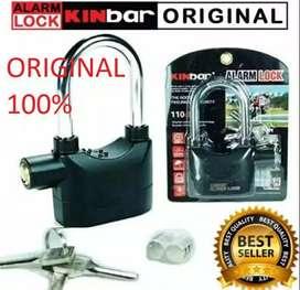 Gembok Alarm KINBAR 100% NEW