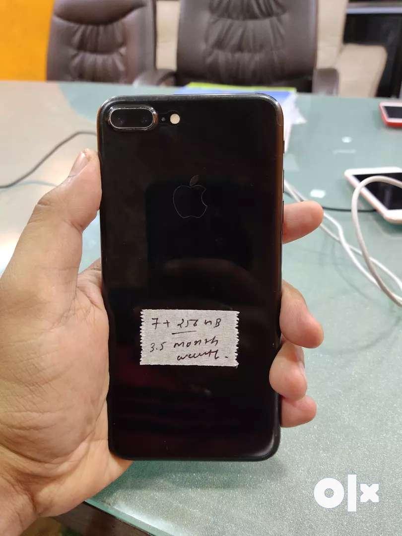 Like New - Iphone 7 Plus - 256gb - Apple warranty 0