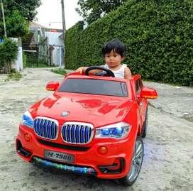 Mobil Mainan BMW Dengan Remote / Mobil Mainan Pakai Aki Bisa Dinaiki
