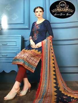 Ladies Fine Cotton Suits For Sale And Home Delivery also Available