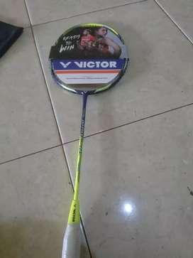 Jetspeed 12 badminton victor raket bulutangkis liliananatsir 30lbs