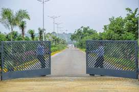 500 sqyds farm land plots with all development at shankarpally