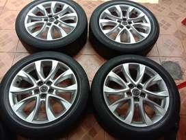 Velg Mazda CX5 R19 Mazda cx3,cx5,cx7,cx9,biante,xpander,innova,santafe