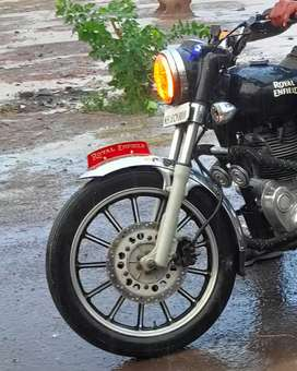 Royal Enfield electra 350 new tyre, all ok good condition