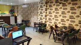Fully furnished restaurant is available for rent in Adarsh Nagar