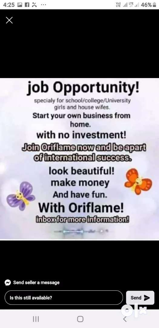 Work from home opportunity for women's