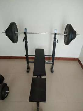 76 kg of Home Gym