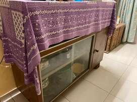 Glass Showcase/ Wardrobe/ Cupboard