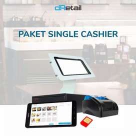Paket POS System Mesin Kasir Tablet 8 inch