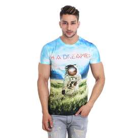 Men's Cotton T-shirt Brand New for Trendy Look