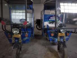 Two E-Rikshaw are available for selling