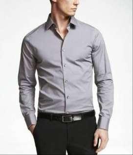 Grey formal shirts @ 398