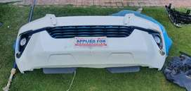 Fortuner front bumper and grill