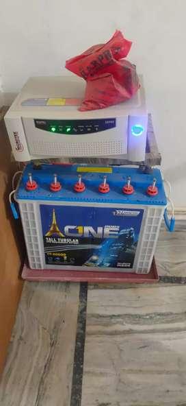 Invetor battery