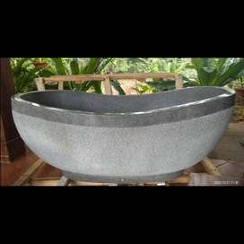 Bathtub Terazzo Mewah Motif Cacak