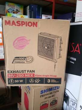"Kipas angin hisap dinding/exhaust fan maspion mv-250 nex 10"" in/out"