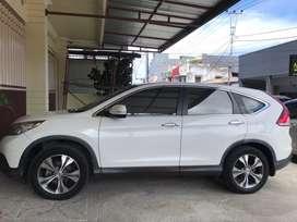 Honda CRV 2.4 bensin warna putih mutiara