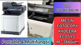 Mesin Fotocopy KYOCERA M3660idn (mesin photocopy all in one)
