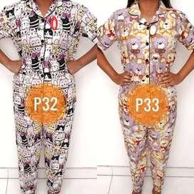 Pj8 Setelan Piyama Tsum Dewasa Kartun Baju Tidur Boneka Celana Panjang