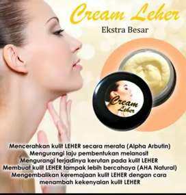 Cream leher original