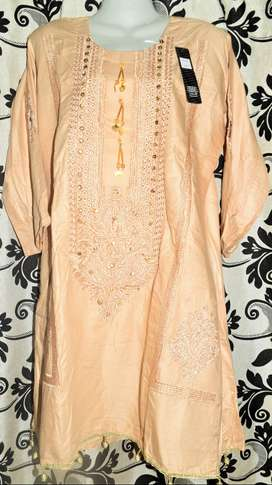 Embroidery kurties