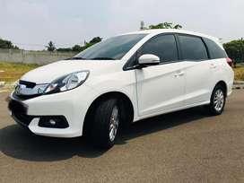 harga cash Honda Mobilio 1.5 e 2016 AT taffeta white metallic