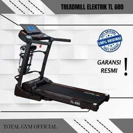Alat olahraga Fitness TREADMILL ELEKTRIK 2 HP TL 680 FITUR AUTO INCLIN