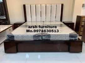 004 new designer bed plywood