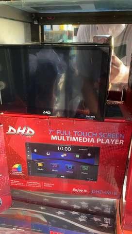 Doubledin / headunit / tv mobil / head unit / audio mobil