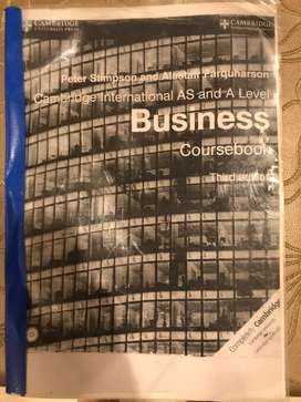 Cambrige International As and ALevel Business coursebook