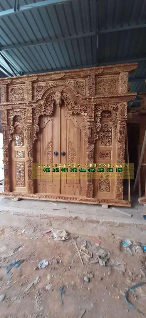 cuci gudang pintu gebyok gapuro jendela rumah masjid musholla yayuk
