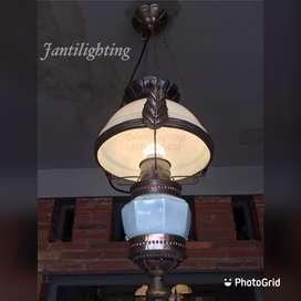 Lampu gantung hias antik klasik lampu teras ruang tamu joglo pendopo