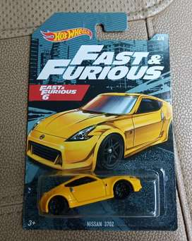 Hotwheels Fast Furiuos