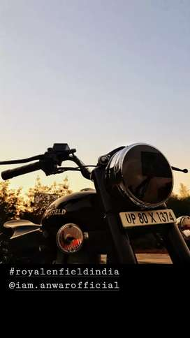 Royal enfield bullet standard modified condition