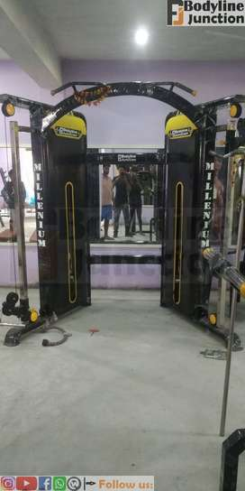 Get full health club Complete new and heavy Duty Gym Equipment Setup.