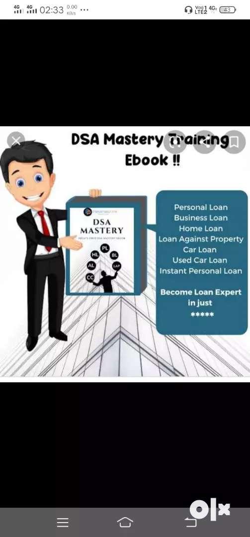 work in dsa for loan business