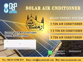 Air Conditioner with Solar System