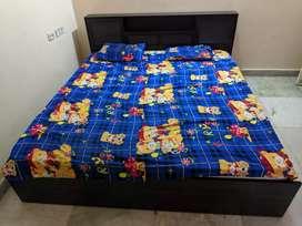 Hometown King size cot + springtek memory form 8 Inch mattress