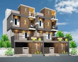 New Luxurious Bungalow B/H Big Bazaar Ananta society Rajkot