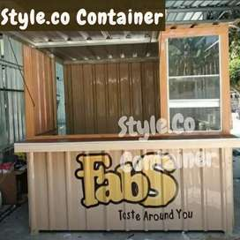 BOOTH SEMI CONTAINER | CONTAINER USAHA KULINER | CONTAINER BOOTH KEDAI