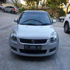 Suzuki Swift 1,5 ST manual th2010 Silver metalik siap pakai