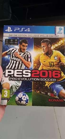 PES 2016 playstation 4