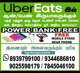 Immediate openings for Food delivery boys across Chennai