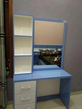 meja rias belajar kitchen set partisi sekat ruangan backdrop tv murah