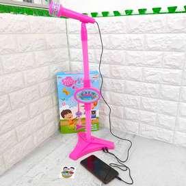 Microphone Mainan Anak Bernyanyi